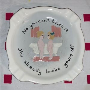 Vintage Humor Ashtray